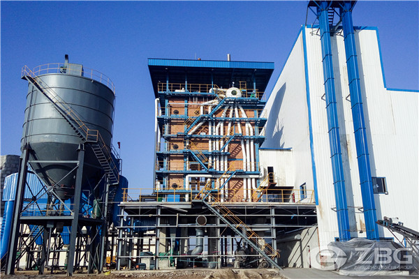 35 ton circulating fluidized boilers project in India